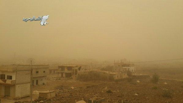 Sandstorm in Daraa – ElDorar's Lens