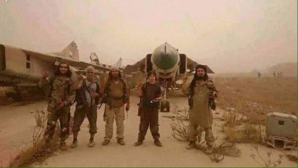 Al-Nusra Front elements inside the airport