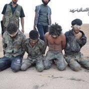 Elements of the Assad regime in the hands of al-Nusra fighters