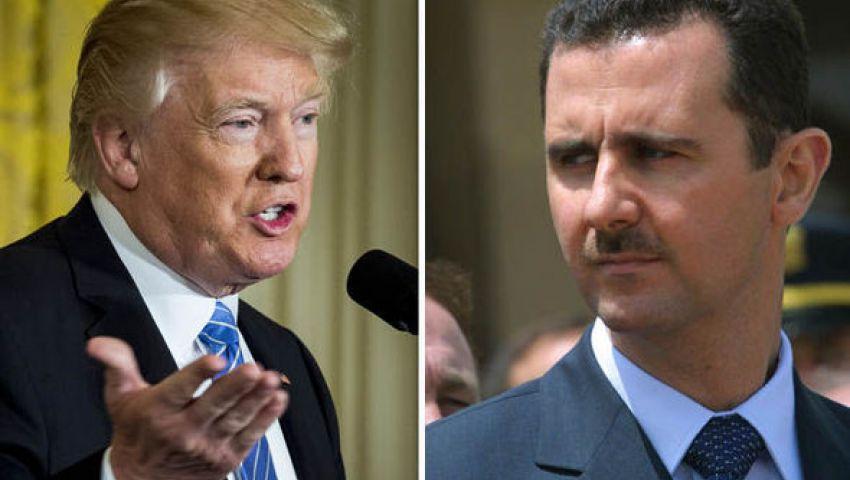 """ترامب يوجه رسالة حاسمة لـ""""بشار الأسد"""""""