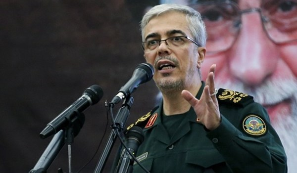 رئيس الأركان الإيراني يوجِّه رسالة من دمشق إلى تركيا.. تتعلق بإدلب
