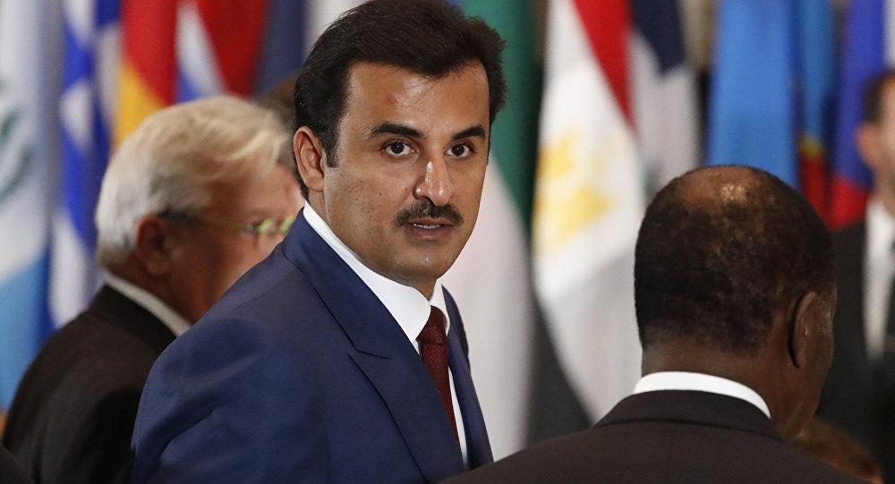 أمير قطر ينتصر للغة العربية بقانون جديد