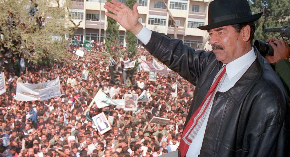 """بالصور.. رغد صدام حسين تكشف حقيقة إعدام """"شبيه"""" أبيها وعودته لحكم العراق"""