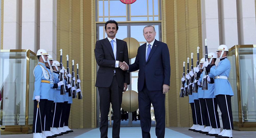 """برقية """"عاجلة"""" من أمير قطر إلى """"أردوغان"""""""