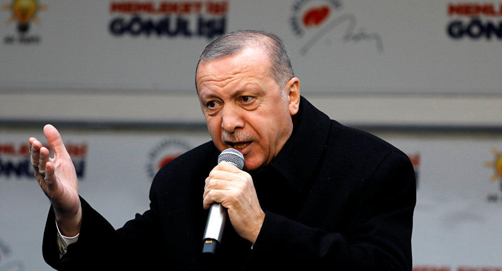 """""""أردوغان"""" يكشف عن بدء بناء مشروع لا مثيل له في العالم"""