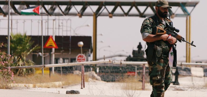 """مسؤول يكشف سبب اعتقال """"نظام الأسد"""" أول أردني يدخل من """"معبر نصيب"""""""