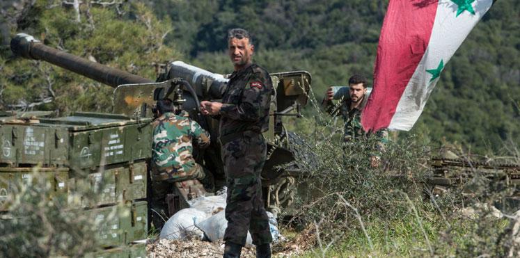 """""""المرصد الموحد"""" لـ"""" الدرر"""": تحركات عسكرية مريبة لنظام الأسد بعد التهديدات الأمريكية"""