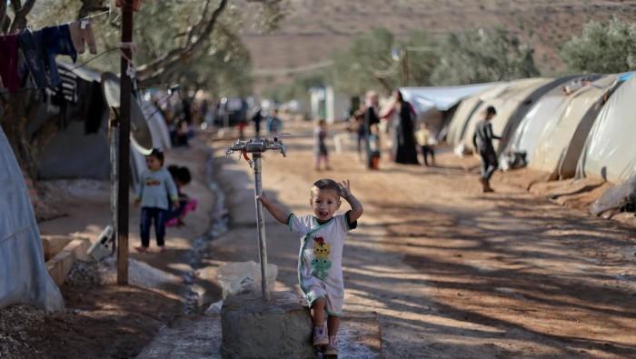 اجراء قطري عاجل تجاه النازحين السوريين