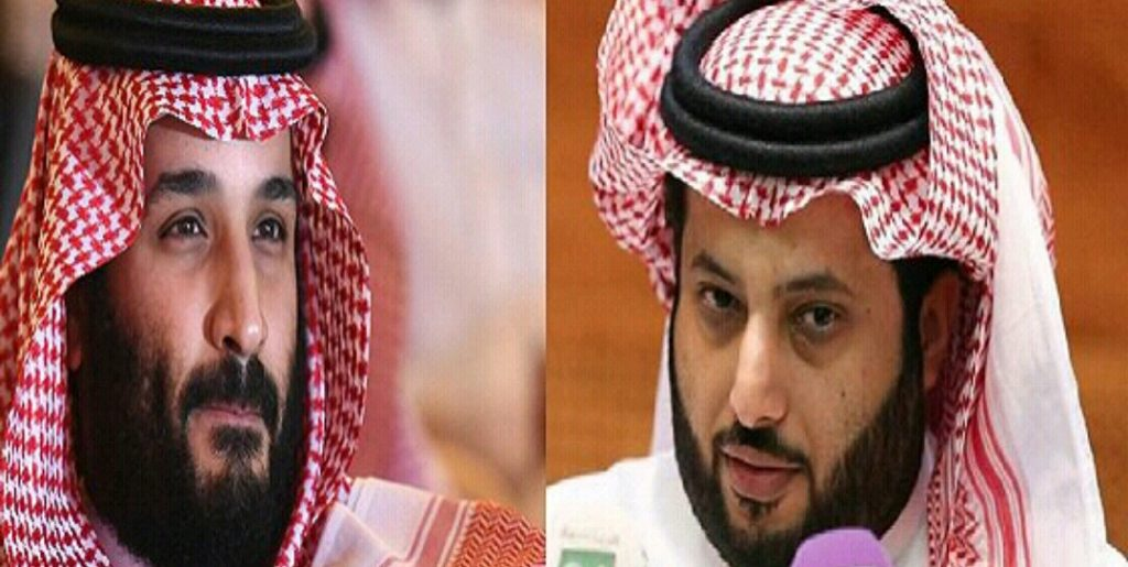 """""""الأخفش"""" يضع تركي الشيخ في ورطة بسبب إهانة محمد بن سلمان.. و""""الحوثي"""" يهدر دمه"""