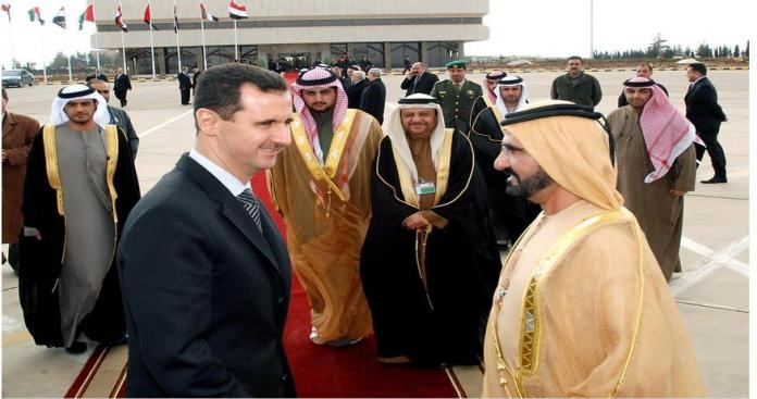 """دعم إماراتي جديد لـ""""نظام الأسد"""" في مجال """"غير مسبوق"""""""