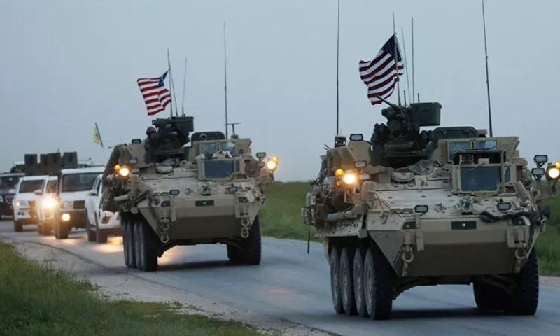 """في خطوة """"غريبة"""".. جنود أمريكيون يتحركون نحو دولة عربية لمواجهة قوات إيرانية"""