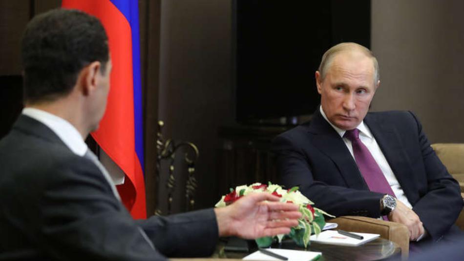 """روسيا توجه طعنة قوية لـ""""الأسد"""" قبل الانتخابات الرئاسية القادمة"""
