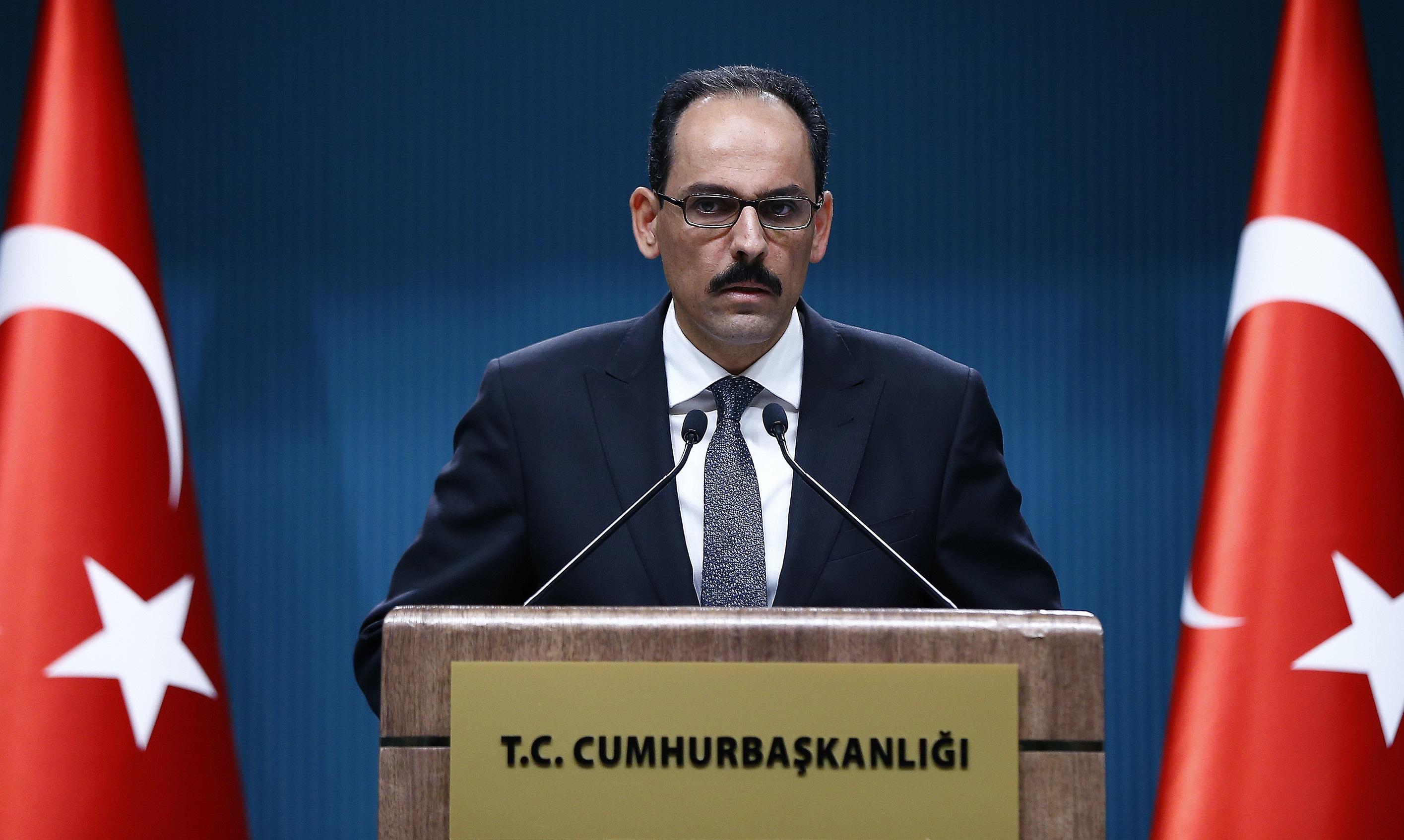 الرئاسة التركية تفتح النار على بشار الأسد
