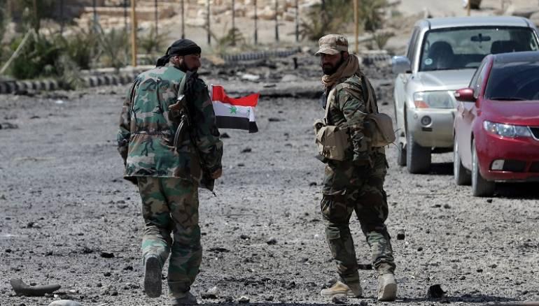اشتباكات عنيفة بين شبيحة النظام ومخابراته الجوية بدمشق