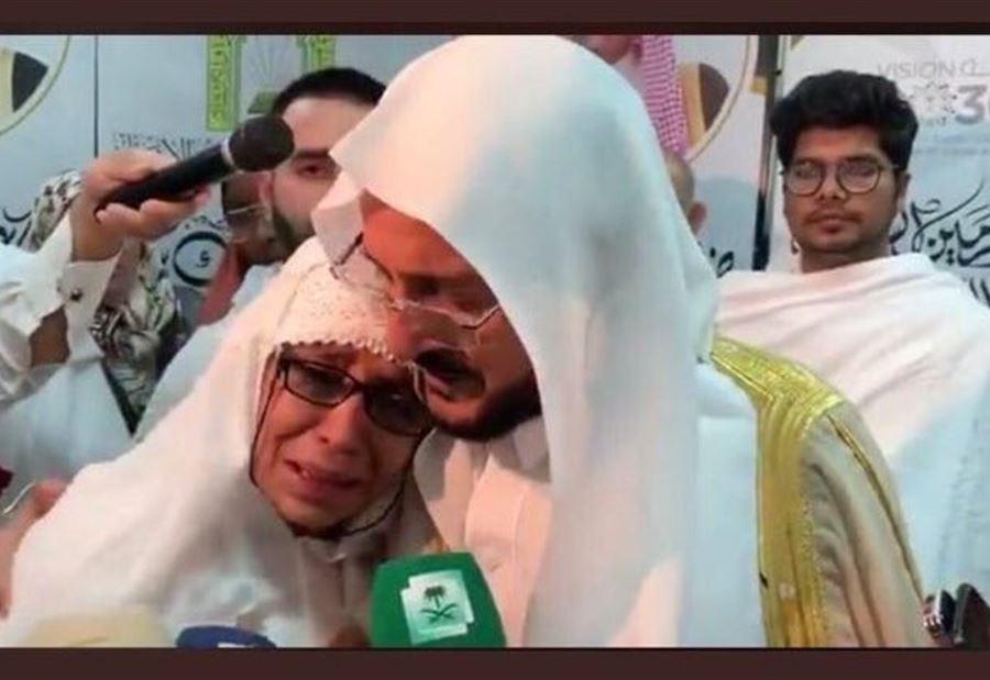 شاهد.. حضن وتقبيل وزير الأوقاف السعودية لحاجة نيوزلندية يشعل تويتر