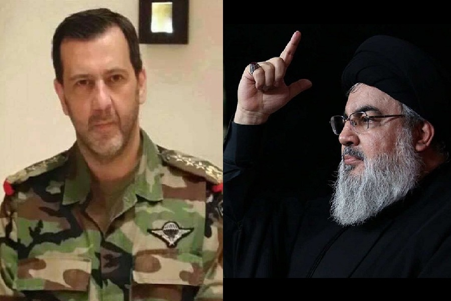 تطور جديد في خلافات ماهر الأسد وحسن نصر الله.. مصدر لبناني يكشف التفاصيل