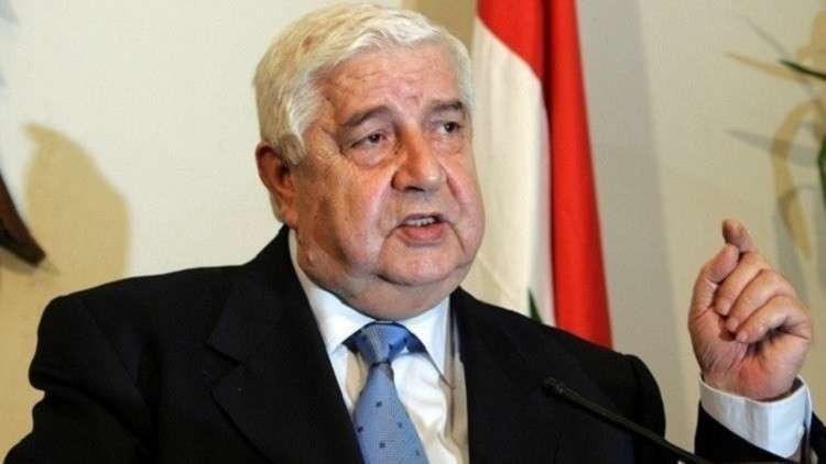 وزير خارجية النظام السوري يفصح عن السبب الرئيسي لزيارة عمر البشير إلى دمشق
