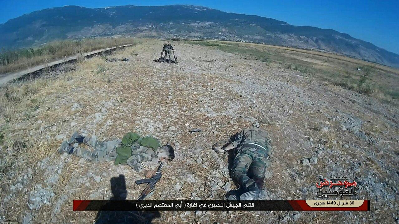 """""""وحرض المؤمنين"""" تنفذ إغارة مباغتة على مواقع قوات النظام في حلب"""