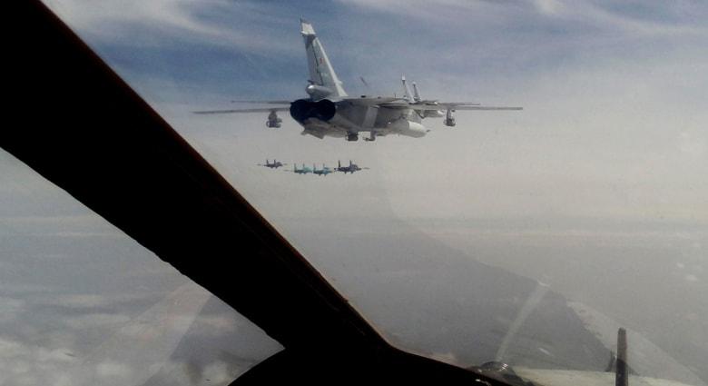 مواجهات جوية بين الناتو وروسيا ..روسيا تتخطى الحدود والناتو يحذر