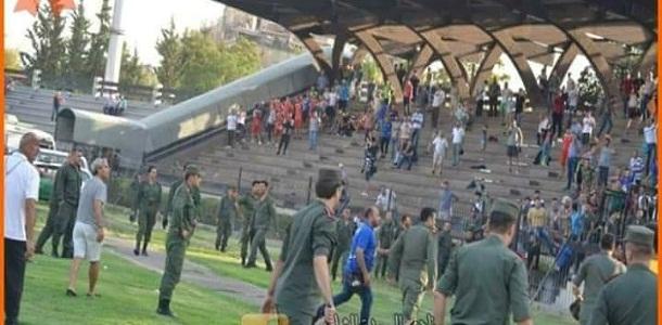 نظام الأسد يتعامل طائفياً مع أحداث شغب وقعت خلال مبارة بدمشق ويثير سخط الموالين