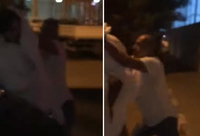حرب شوارع في الكويت.. اشتباك بالأسلحة بين ضابط وعسكري بسبب فتاة بالأمريكية (فيديو)