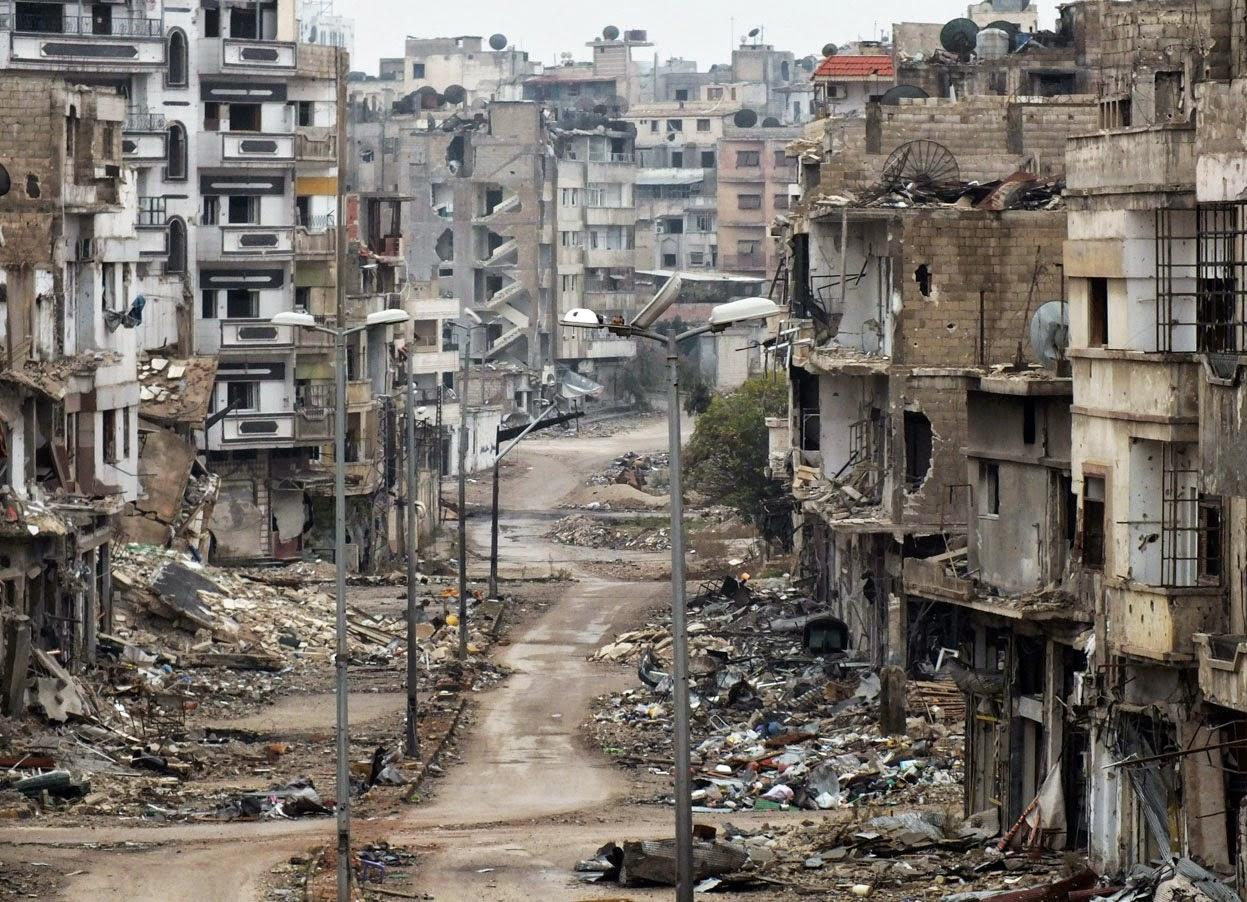 قطر تعلن استعدادها المشاركة في إعادة إعمار سوريا بشرط