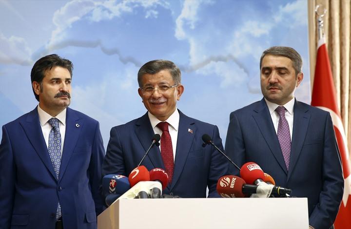 """""""داوود أوغلو"""" يفجر قنبلة في وجه """"أردوغان"""" رسميًا"""
