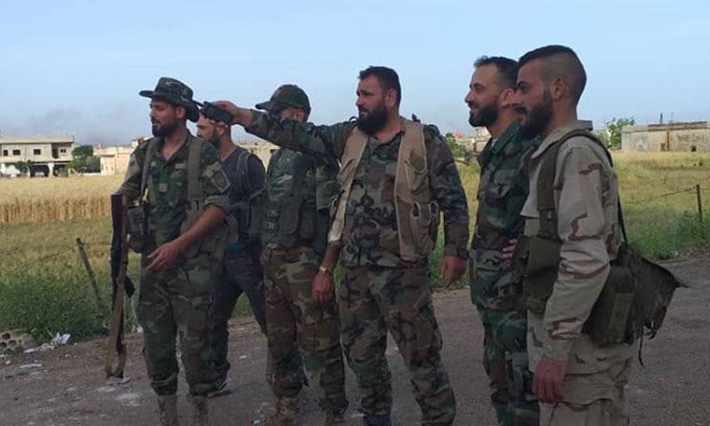 """مقتل قائد عمليات اقتحام ميليشيات """"النمر"""" على بلدة القصابية جنوب إدلب"""