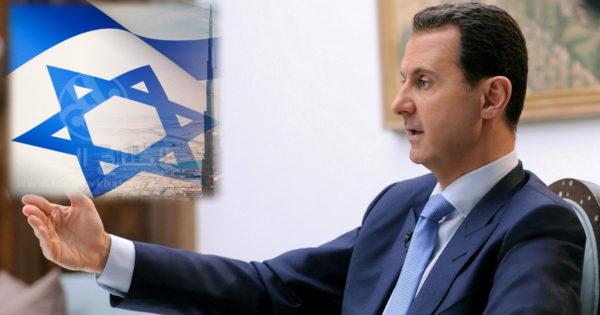 """صحفي إسرائيلي يفضح علاقة """"الأسد"""" بإسرائيل"""