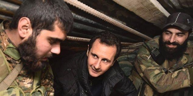 """شاهد.. تداول فيديو بمواقع التواصل """"اضحك مع بشار الأسد"""" بعد إنهائه حيرة السوريين"""