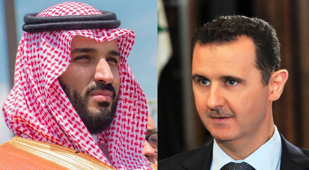 """رسالة من """"نظام الأسد"""" إلى محمد بن سلمان: """"نريد مليارات مثل ترامب"""""""