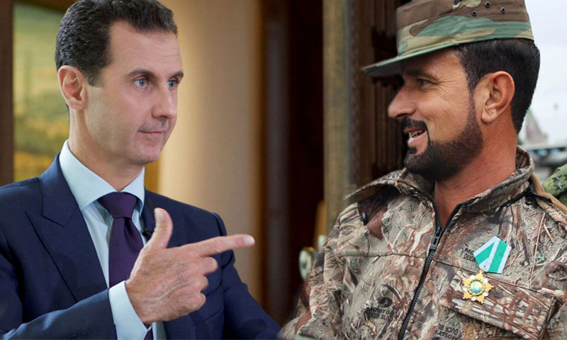 """حرب داخل أروقة """"قصر الأسد"""".. إجراءات حاسمة ضد أذرع سهيل الحسن"""