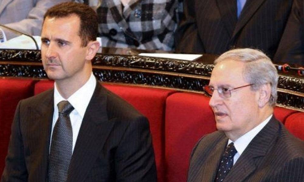 حسم الجدل بشأن اعتقال فاروق الشرع ووضعه تحت الإقامة الجبرية في دمشق (صورة)