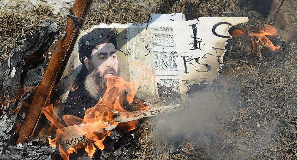 """""""البغدادي"""" يعود للظهور بعد غياب طويل ويوجِّه رسالة لمقاتلي """"تنظيم الدولة"""""""