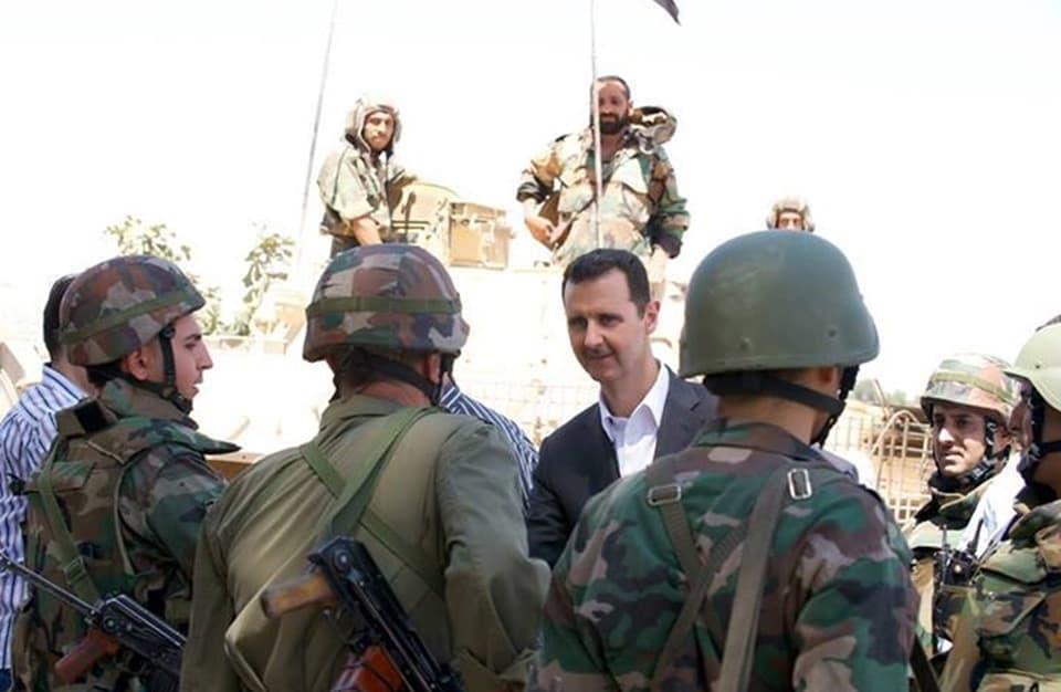 """""""مخابرات النظام"""" تنفّذ حملة سرية وغامضة ضد حرس موكب بشار الأسد"""