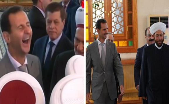 لماذا أدى بشار الأسد صلاة العيد في دمشق ولم يتوجه إلى محافظة أخرى؟ (صور)
