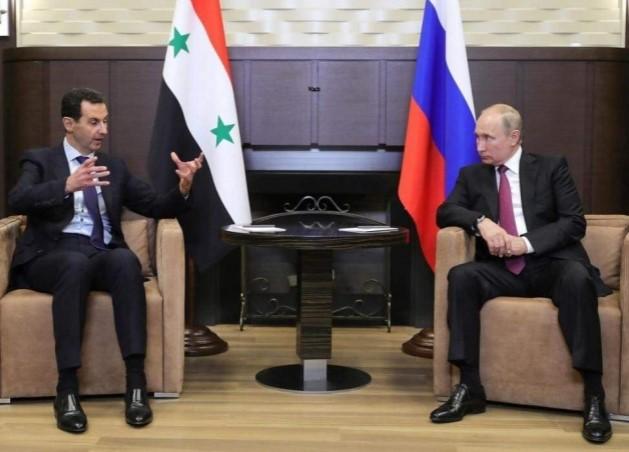 """رسالة من بشار الأسد إلى """"بوتين"""" بشأن مشاركته في قتل السوريين.. والأخير يرد"""