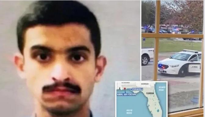آخر ما كتبه الطالب السعودي قبل تنفيذ هجومه على القاعدة الأمريكية