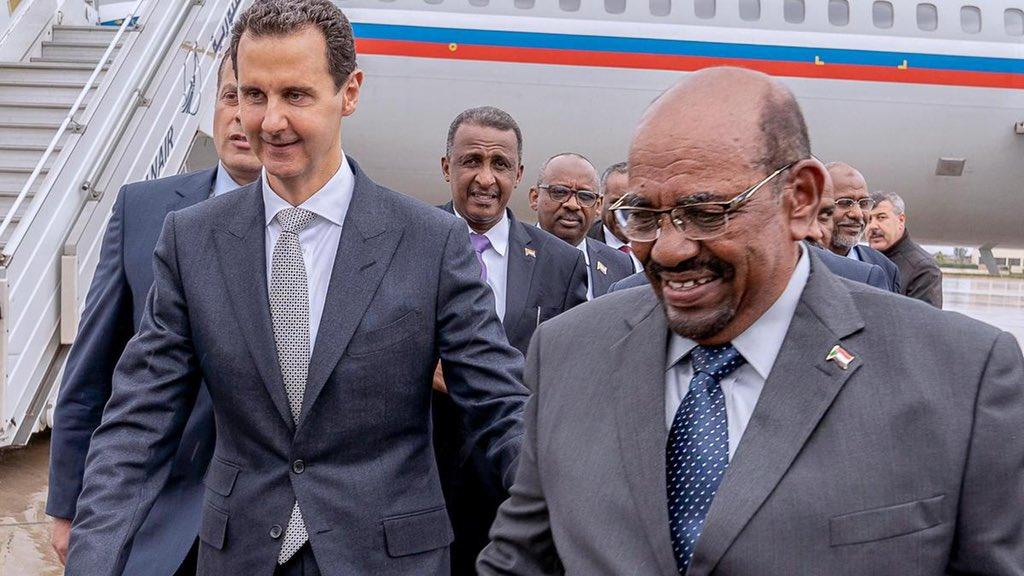 لعنة بشار الأسد تطيح بالبشير