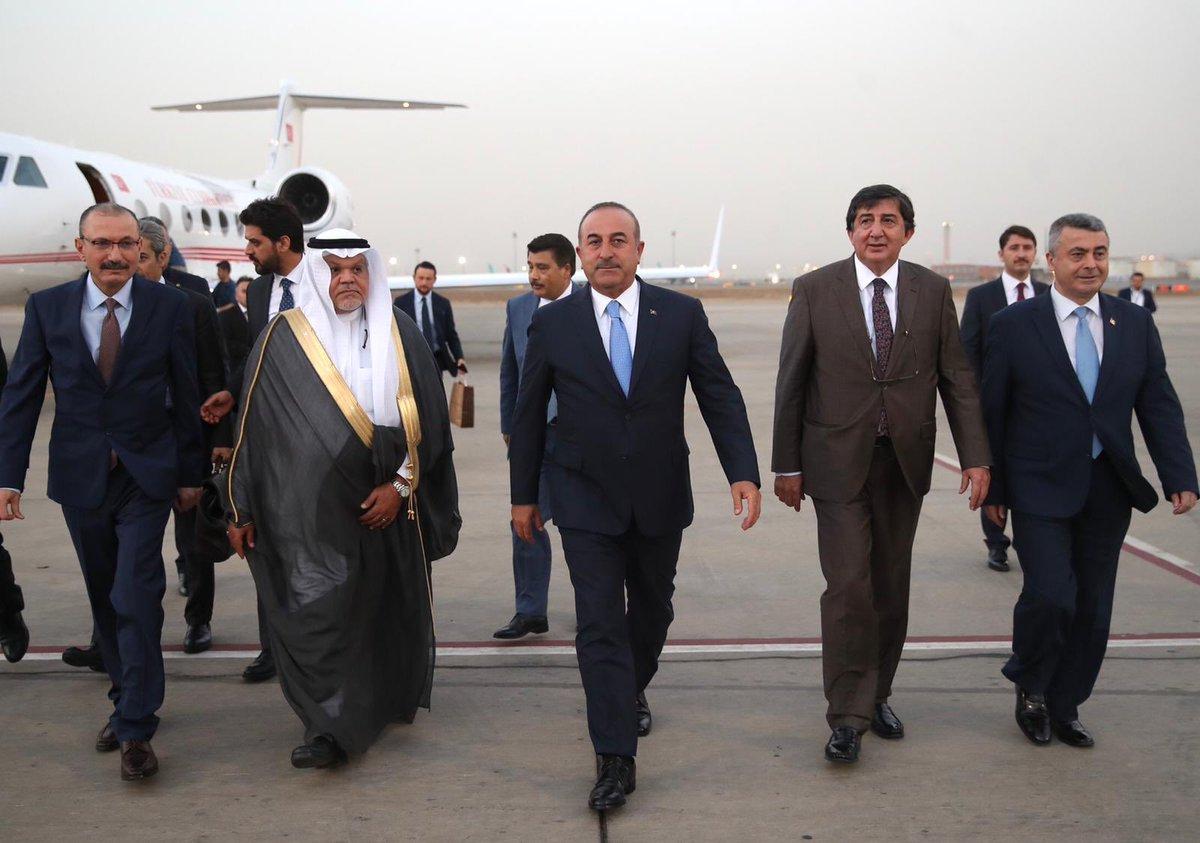 وزير الخارجية التركي في السعودية عقب بيان تحذير من السفارة السعودية بأنقرة