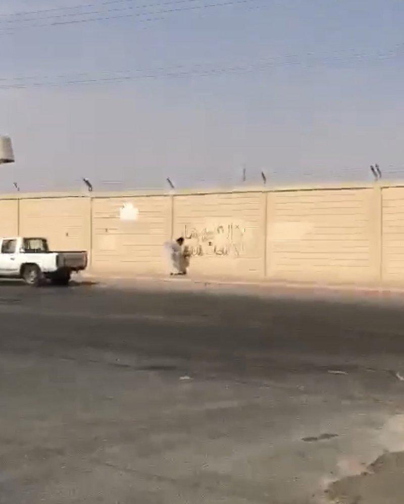 """إجراء عاجل للشرطة السعودية مع السوري الموالي لـ""""الأسد"""" صاحب """"العبارات الشركية"""""""