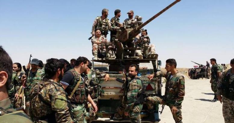 """على وقع معارك حماة..عصيان وتمرد في صفوف عناصر """"الفيلق الخامس"""" بدرعا"""