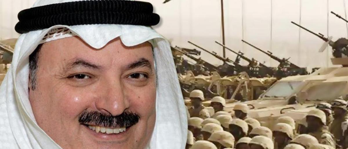 الضابط الكويتي السابق ناصر الدويلة ينشر إحداثيات عسكرية داخل السعودية.. ويفجر مفاجأة