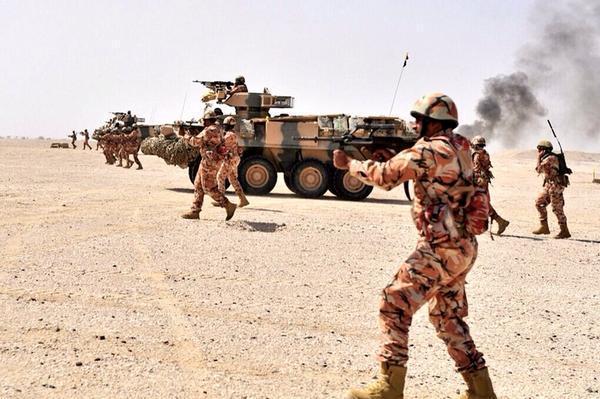 """حقيقة دخول قوات عُمانية """"عسكرية"""" للحدود الإماراتية"""