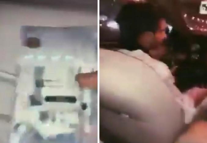 """أمير من """"آل سعود"""" يثير ضجة على كورنيش جدة.. """"فلوس زي الرز"""" (فيديو)"""