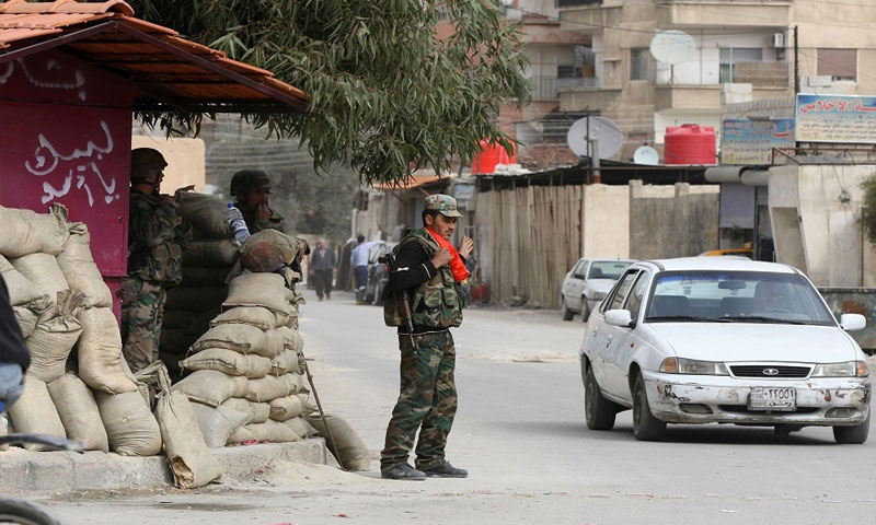 اجراءات عسكرية لنظام الأسد في محيط العاصمة دمشق