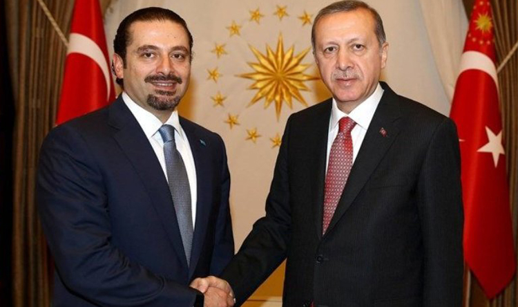 """نظام الأسد يصدر قائمة """"الإرهاب"""" يتصدرها أردوغان والحريري"""