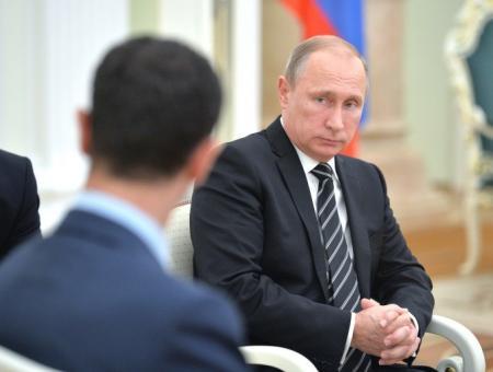 """خطة جديدة لـ""""بوتين"""" للحل في سوريا.. وصحيفة تكشف مصير بشار الأسد"""