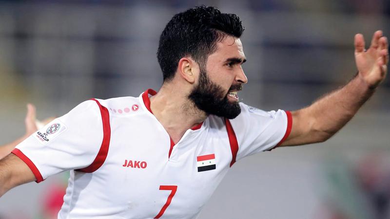"""قرار صارم من نظام الأسد بحق لاعب منتخب البراميل """"عمر خريبين"""" بعد كشفه """"فضائح"""""""