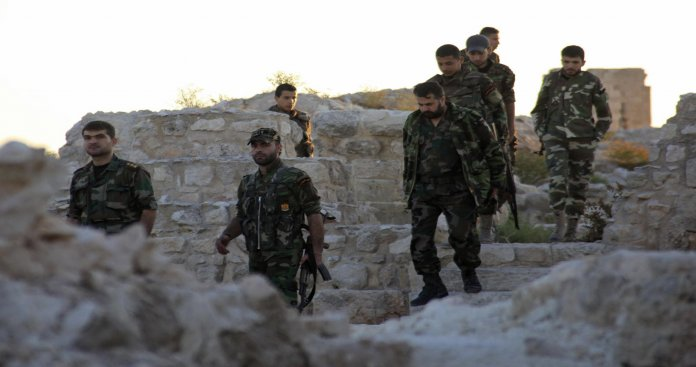 قتلى وأسرى في اشتباكات بين مخابرات الأسد و الفرقة الرابعة بدرعا